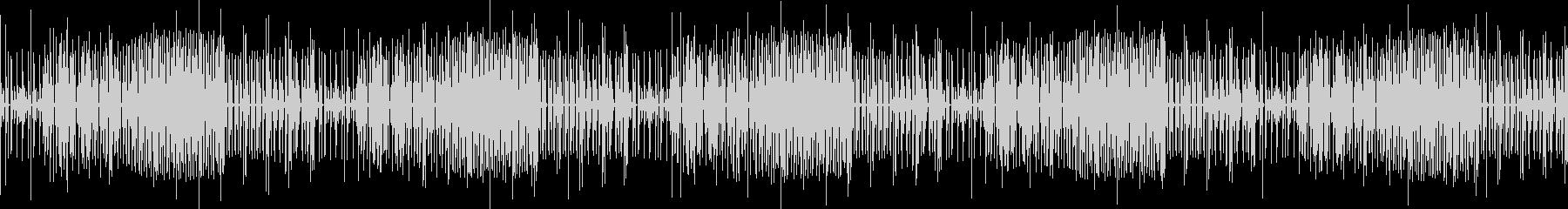 シンセサイザーによる幻想的なBGMの未再生の波形