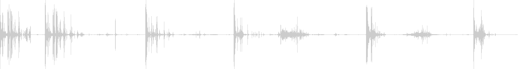 Rock Drops 7.5ポンドの再生の未再生の波形