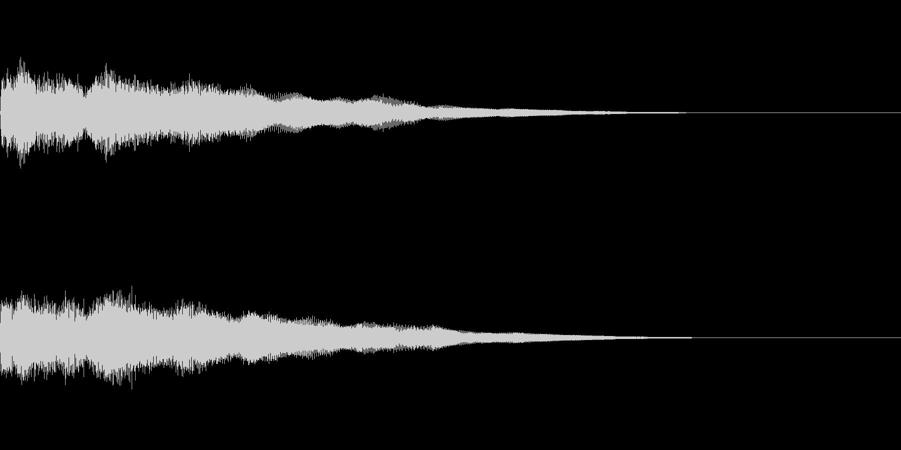 アイキャッチ(格闘物などに)の未再生の波形