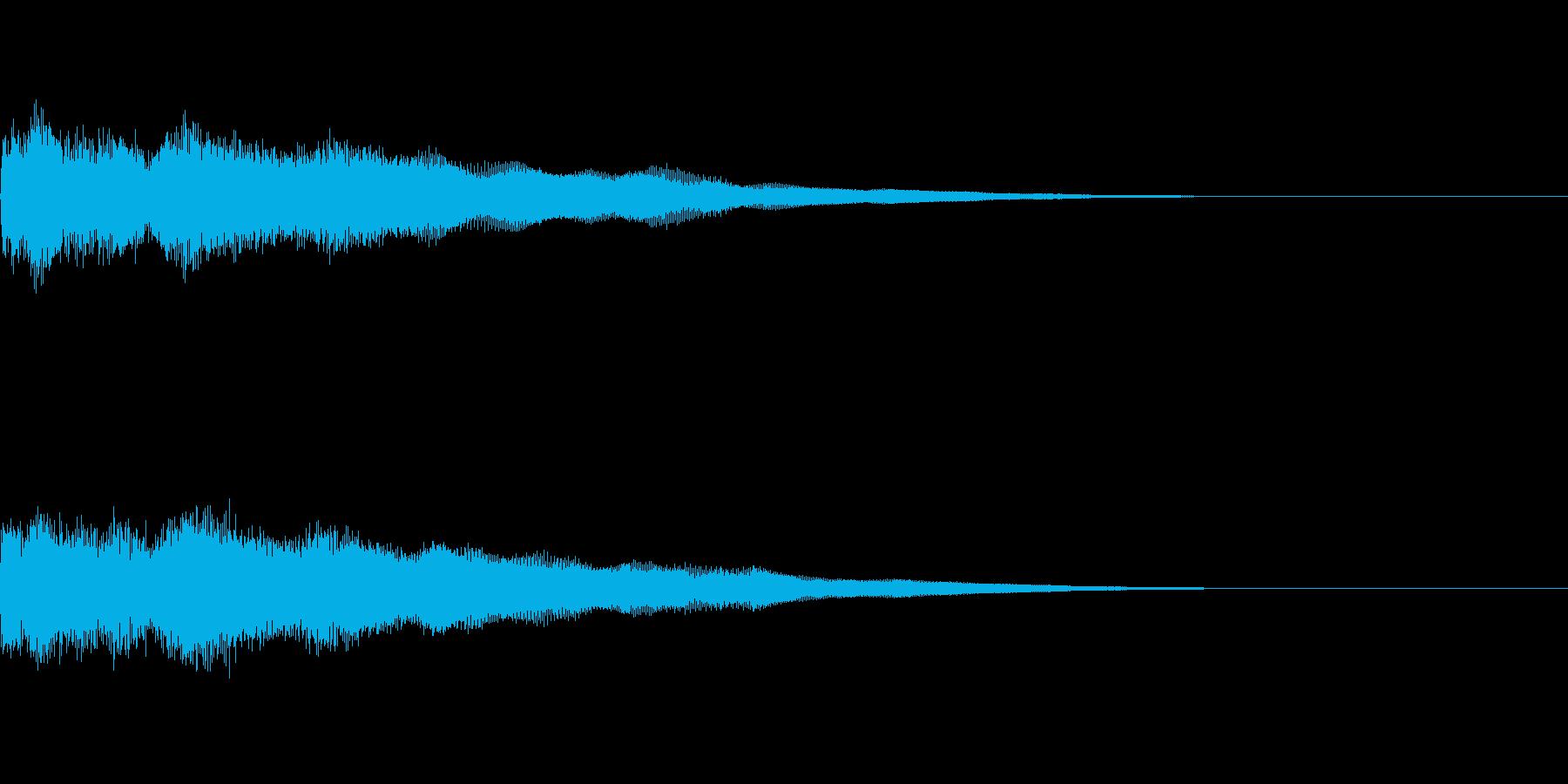 アイキャッチ(格闘物などに)の再生済みの波形