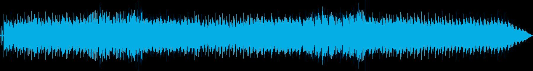 爽やかな映像に合うボサノバ風インスト曲の再生済みの波形