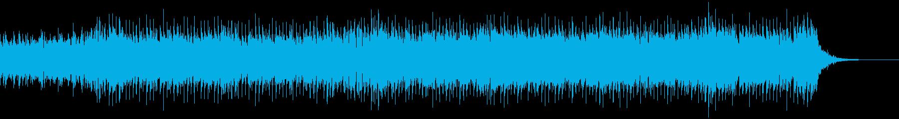 エモい曲ですの再生済みの波形