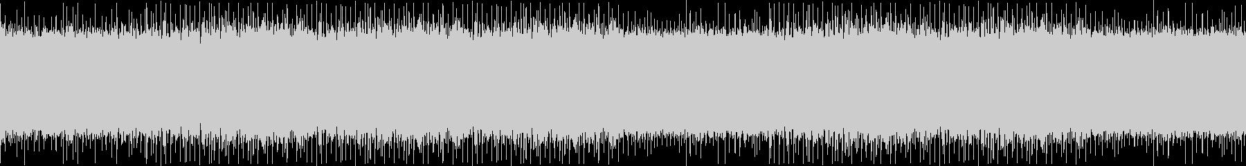 哀愁漂う生音バンド風オルガンループビートの未再生の波形