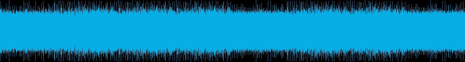 哀愁漂う生音バンド風オルガンループビートの再生済みの波形