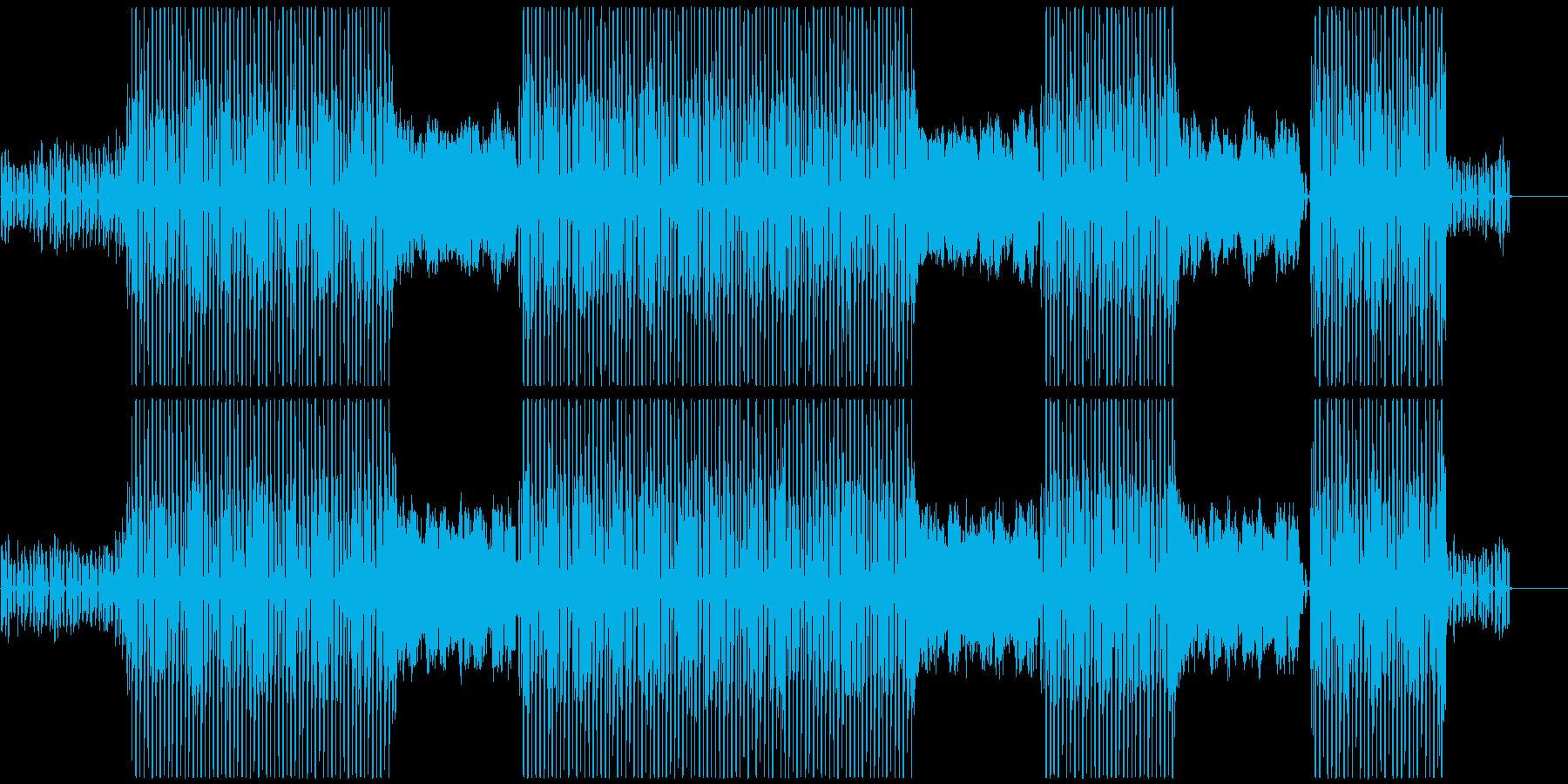 K-Pop、ディスコ、ダイナマイト♪の再生済みの波形