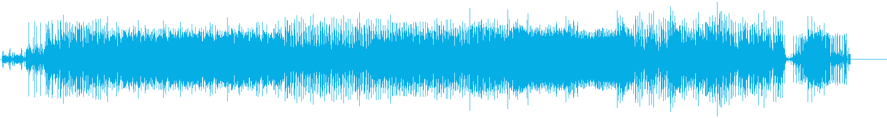 deeptechnoの再生済みの波形