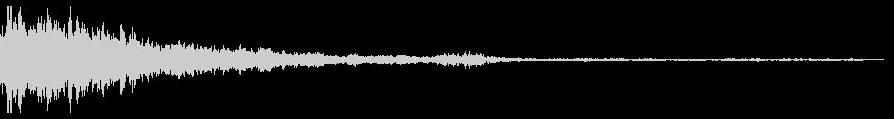 エイリアンスターの未再生の波形