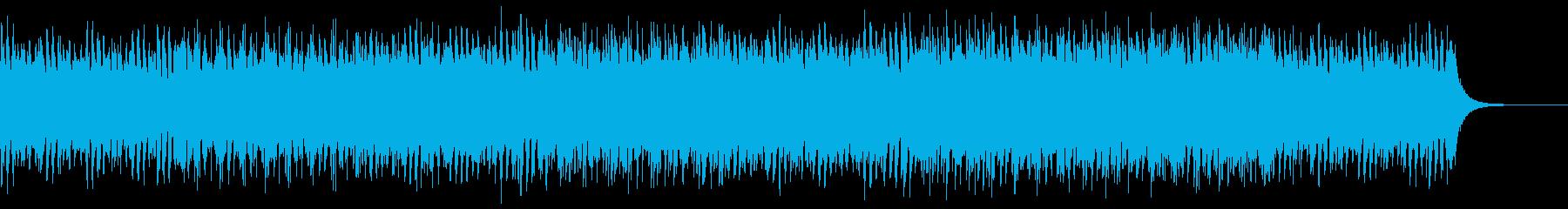 ストリングス主体の爽やかなポップスの再生済みの波形