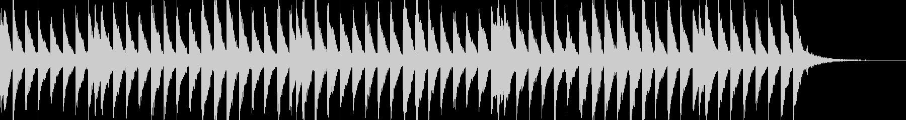 EDM  Drop フレーズですの未再生の波形