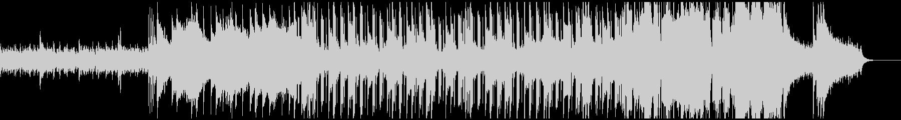 ピアノと木管が主体のポップスの未再生の波形