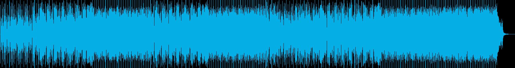 ポップ。岩。の再生済みの波形