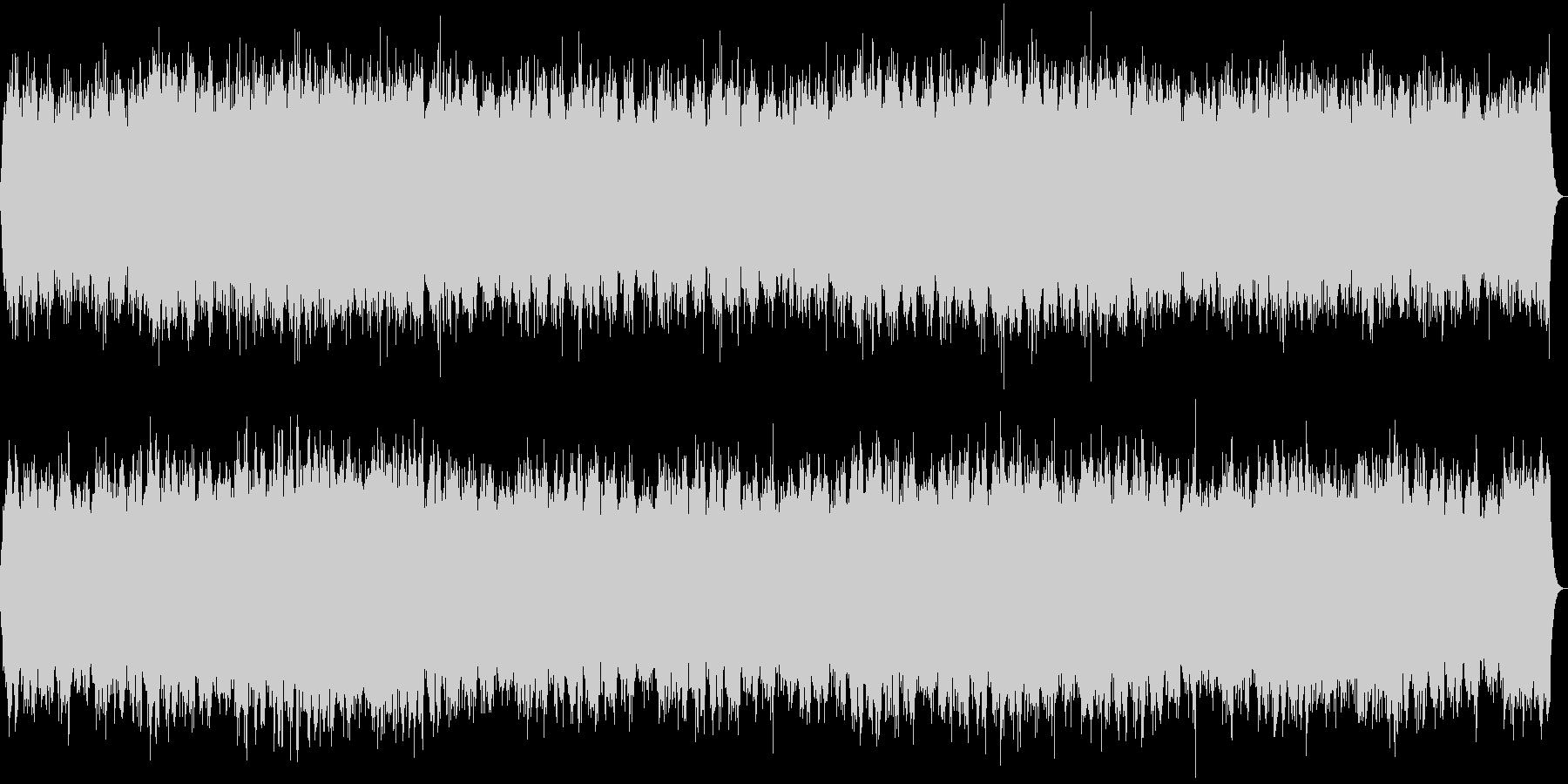 『森の昼寝』リラックスできるヒーリング音の未再生の波形