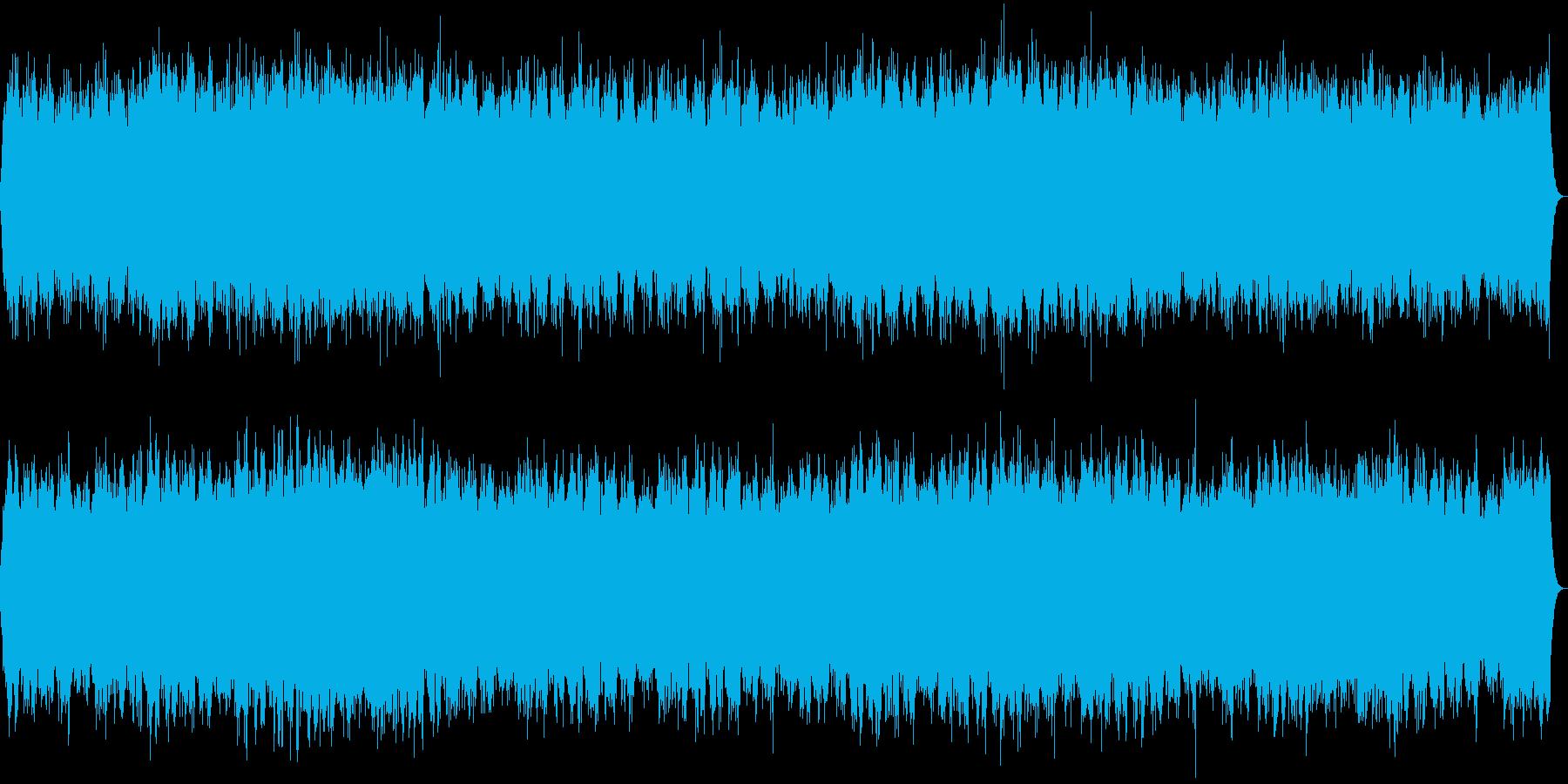 『森の昼寝』リラックスできるヒーリング音の再生済みの波形