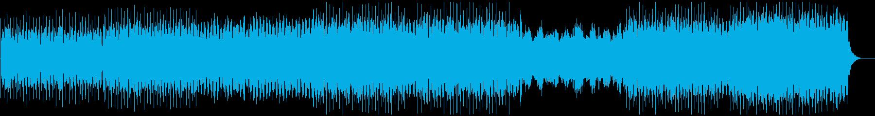 アンビエント テクノロジー シンセ...の再生済みの波形