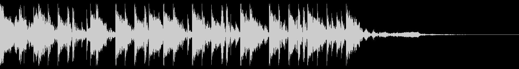 160 BPMの未再生の波形