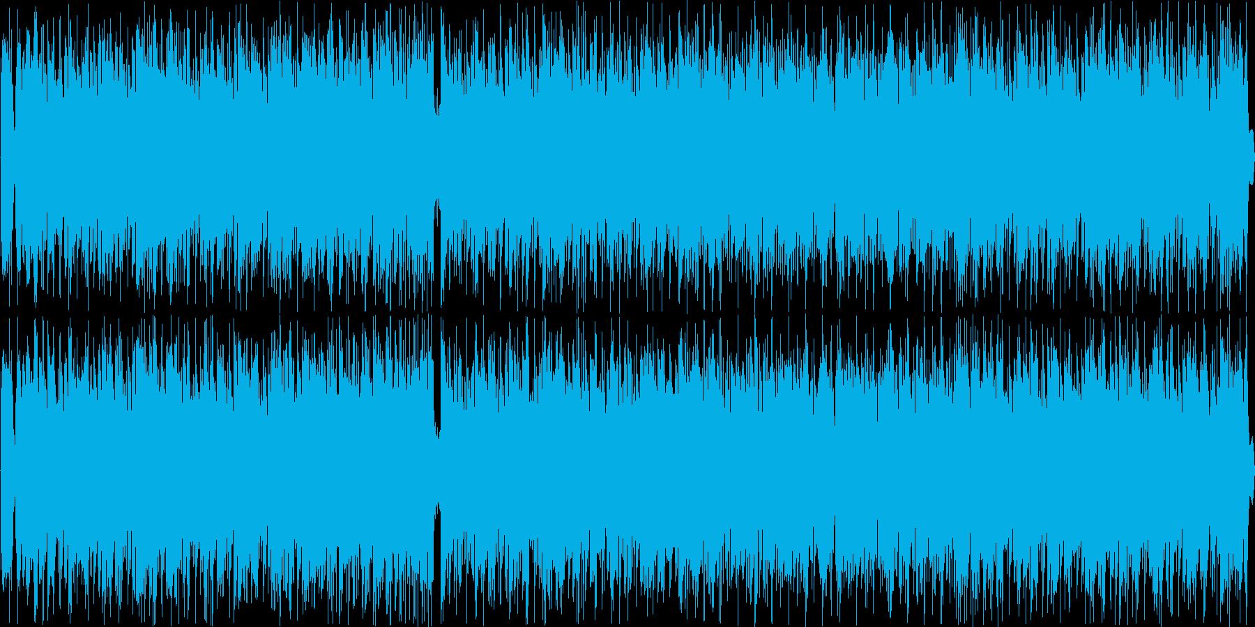 戦闘シーンの再生済みの波形