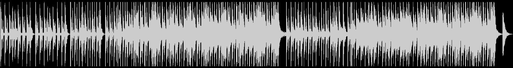 シンプルでキャッチーなポップスの未再生の波形