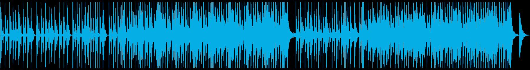 シンプルでキャッチーなポップスの再生済みの波形