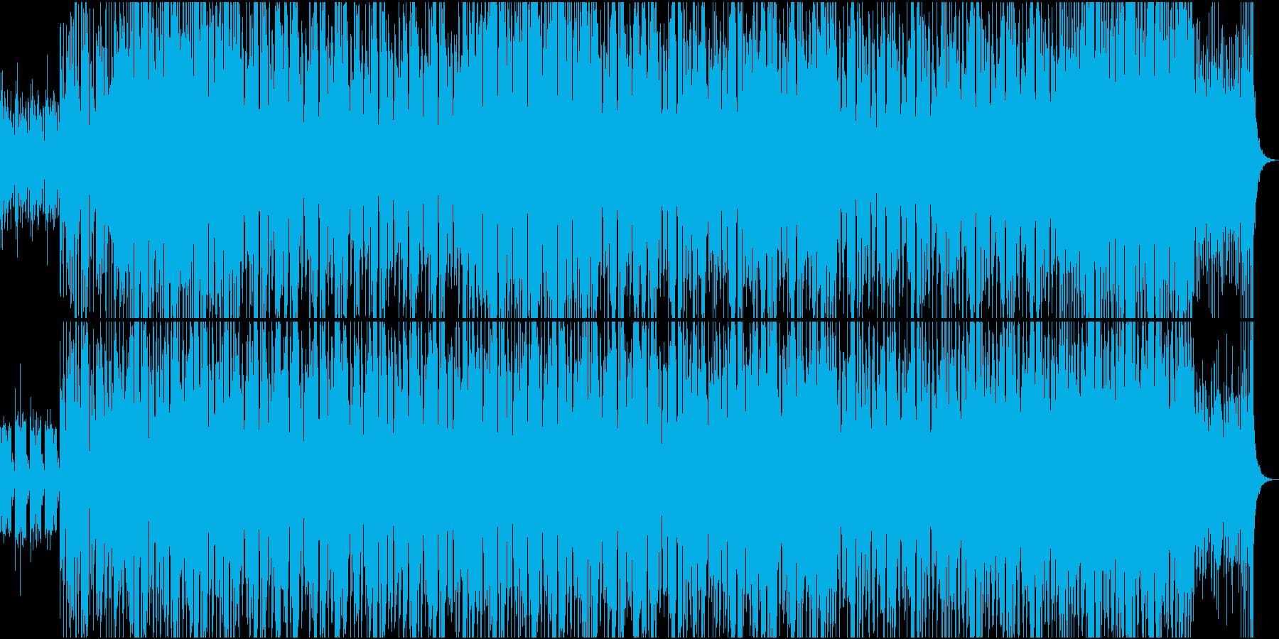 二胡による和風・中華風EDM Part1の再生済みの波形