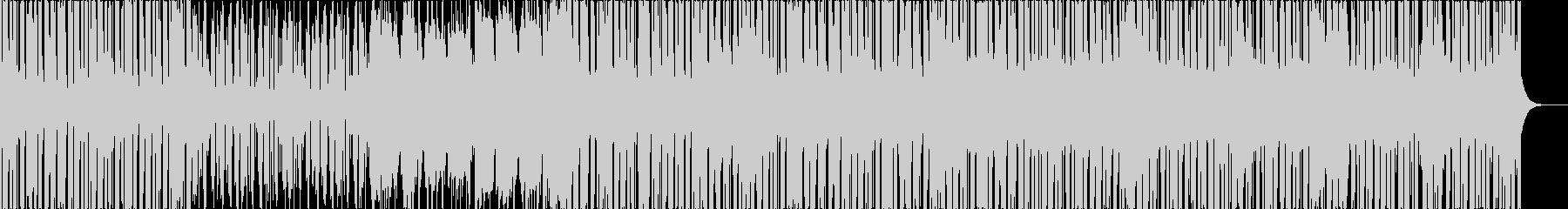 切ない雰囲気のエレクトロ楽曲の未再生の波形