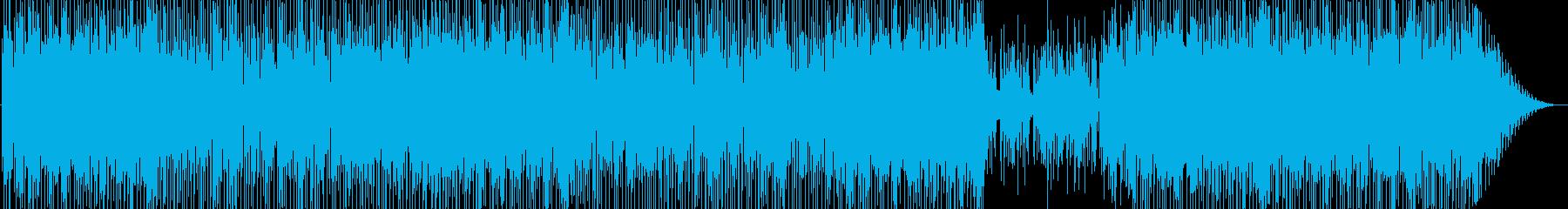 和楽器によるポップなEDM・ヒップホップの再生済みの波形