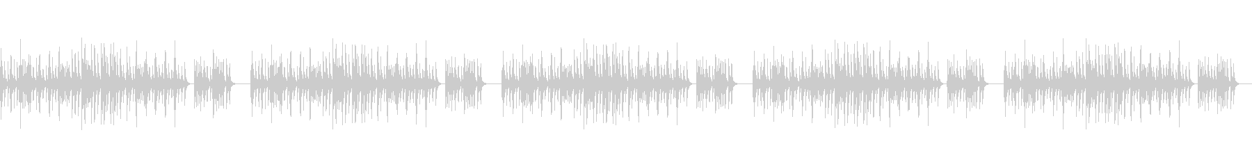縁日の帰り道/和風/シンプルな琴のBGMの未再生の波形