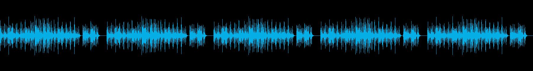 縁日の帰り道/和風/シンプルな琴のBGMの再生済みの波形