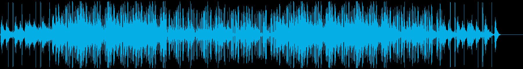ゲームのダンジョンのBGMに最適の再生済みの波形