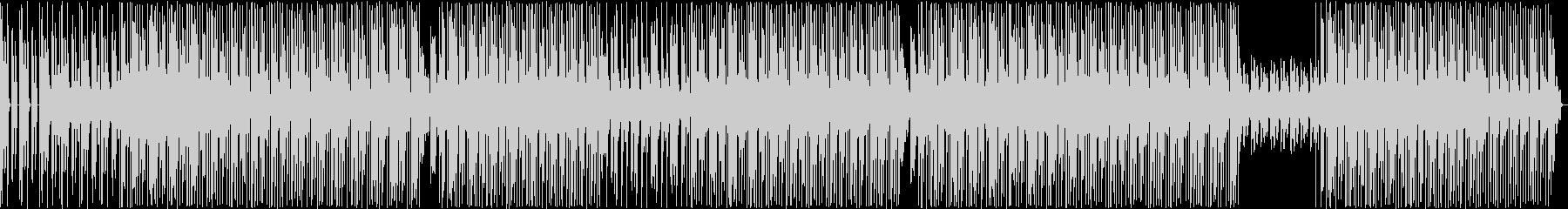 HIPHOPトラック 爽やか系 軽やか系の未再生の波形