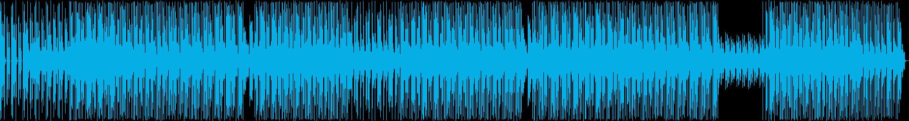 HIPHOPトラック 爽やか系 軽やか系の再生済みの波形