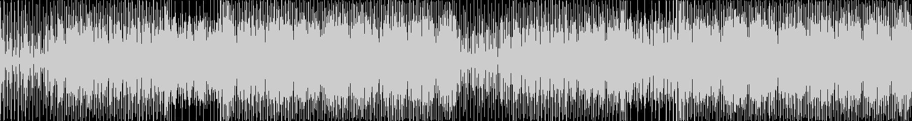 エレクトロハウス。まっすぐ。の未再生の波形