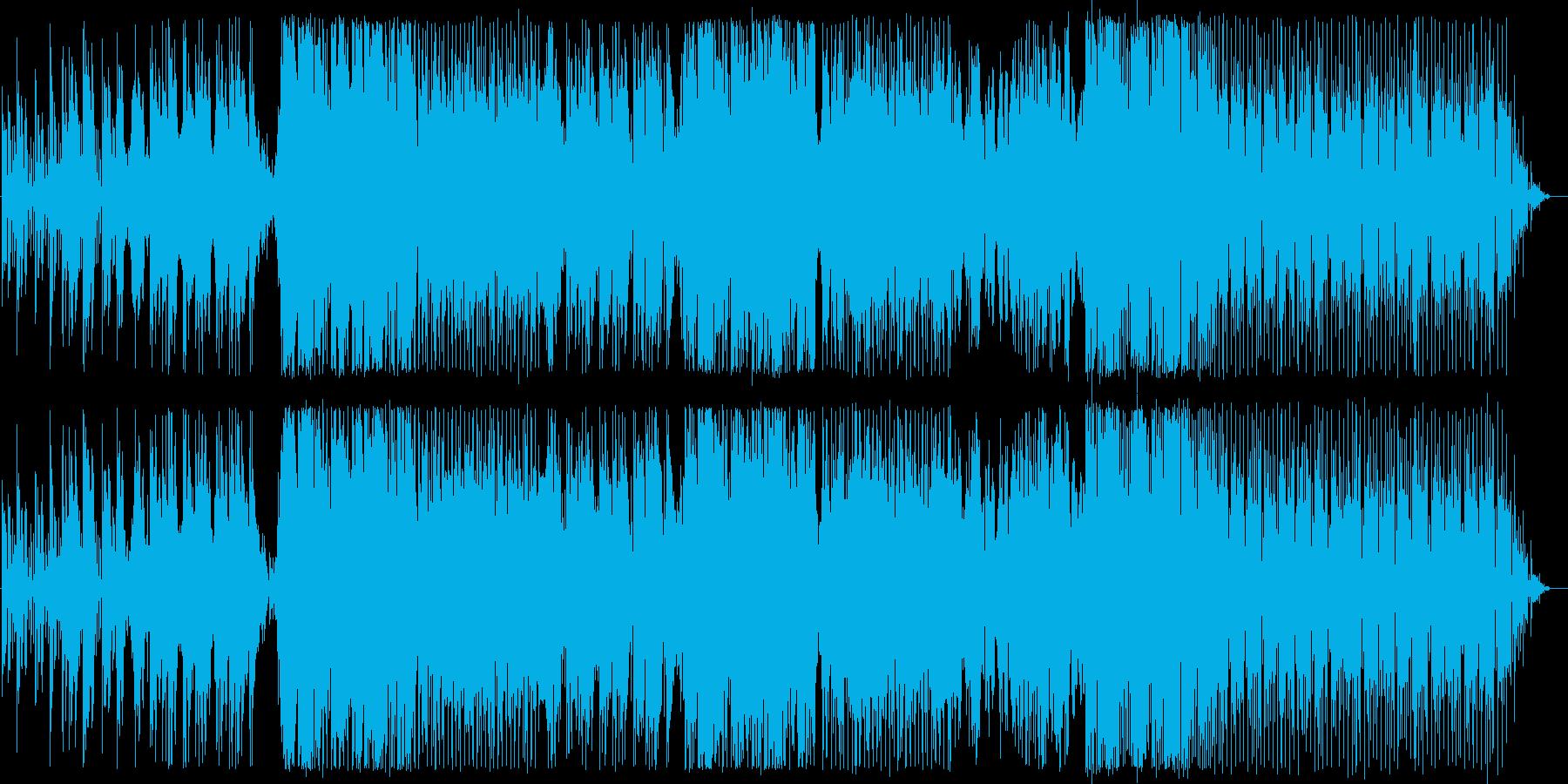 都会的でオシャレな女性ボーカルハウスの再生済みの波形