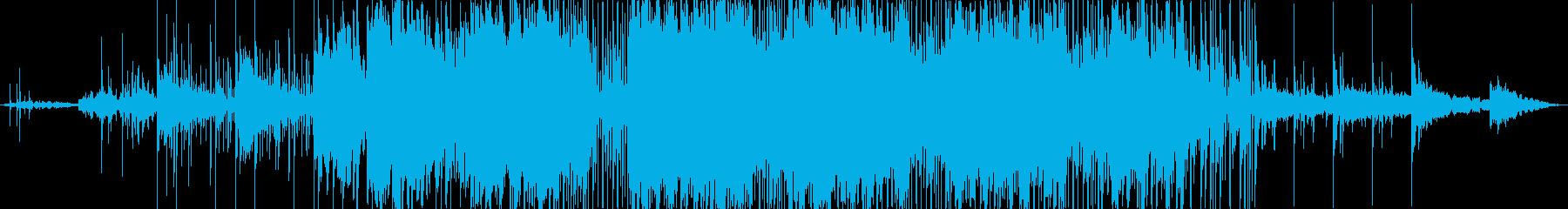 動画 パーカッション シンセサイザ...の再生済みの波形