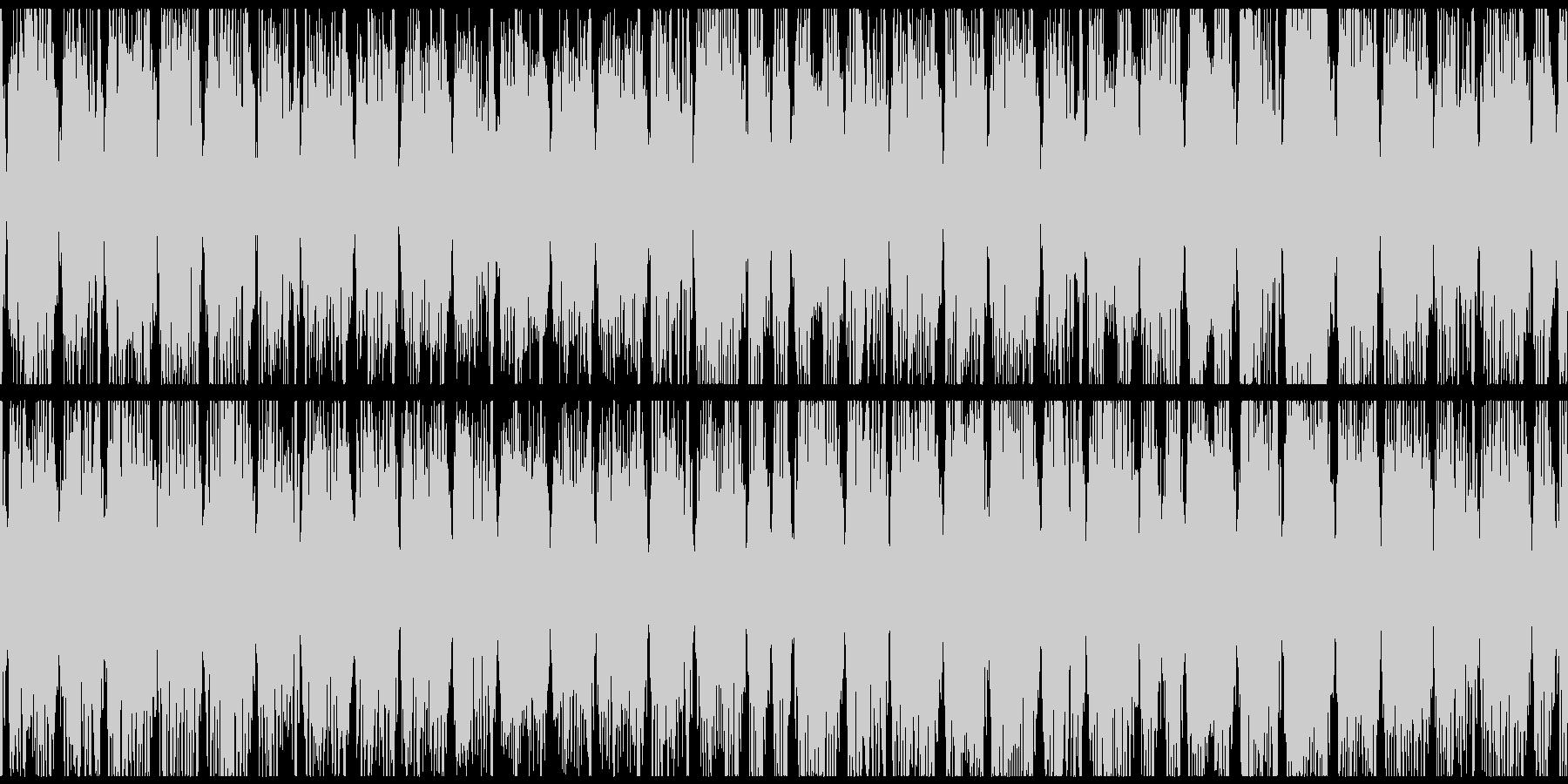やや暗い音とわずかなダブステップの...の未再生の波形