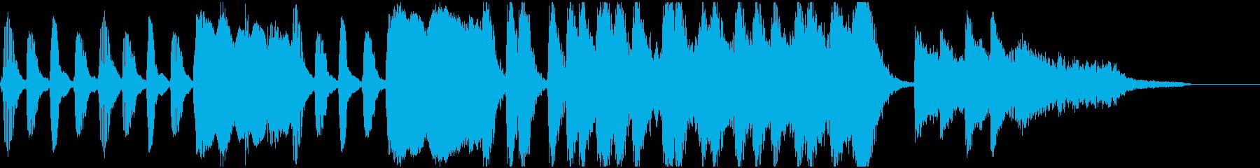 簡素な中から伝わるドキドキ感の再生済みの波形
