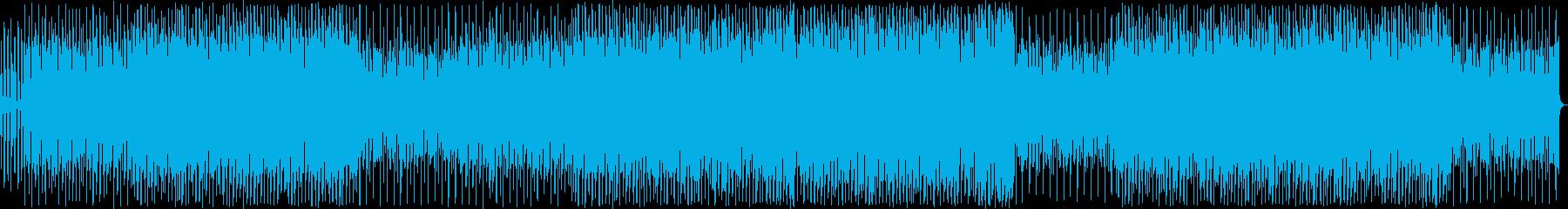 バイオリンの旋律が印象的なハウストラックの再生済みの波形