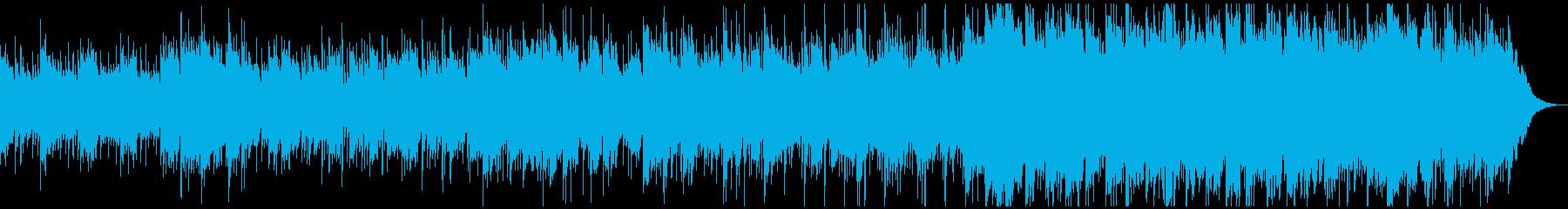 ナチュラルなアコースティックギター曲の再生済みの波形