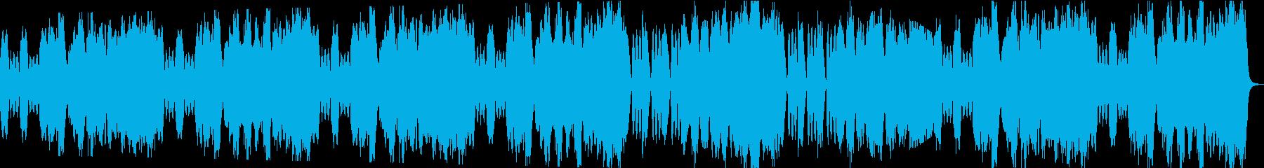 優雅なBGMの再生済みの波形