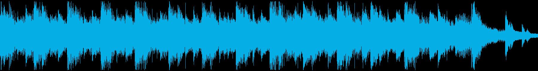 <ショートループ> ピアノ⑥+ビートAの再生済みの波形