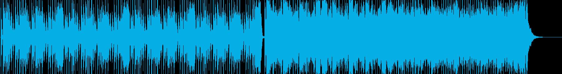 ロック、ドライビング、ギター、エク...の再生済みの波形