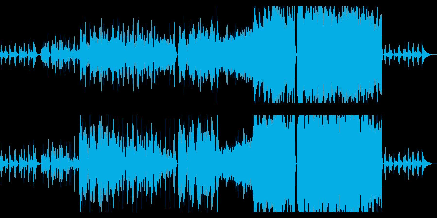 悲しく切ない、壮大なオーケストラ曲の再生済みの波形