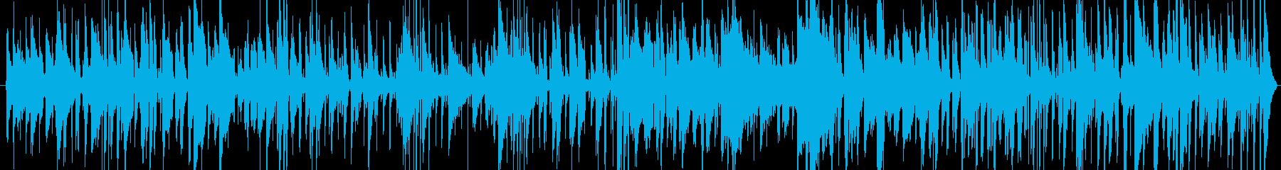 大人の雰囲気がただようジャズミュージックの再生済みの波形