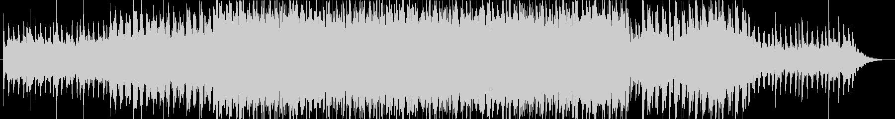 ストーリー性豊かなトロピカルハウス曲・Hの未再生の波形