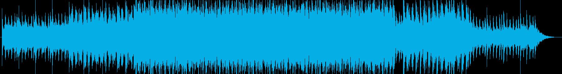 ストーリー性豊かなトロピカルハウス曲・Hの再生済みの波形