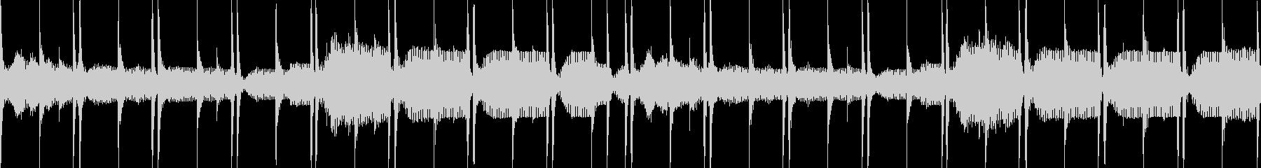 ループ/ピアノのLo-Fi Hiphopの未再生の波形