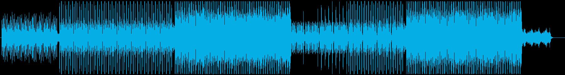 洋楽、パーティーEDM、ポップサウンド!の再生済みの波形