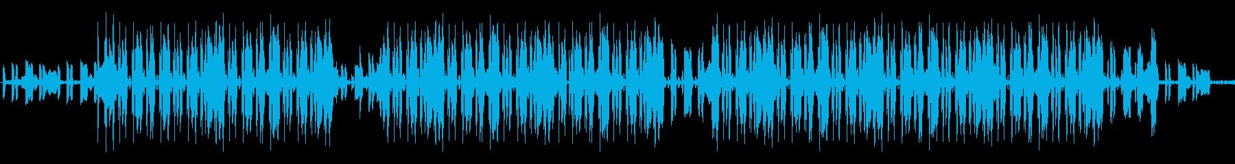 哀愁漂うメロウなヒップホップビートの再生済みの波形