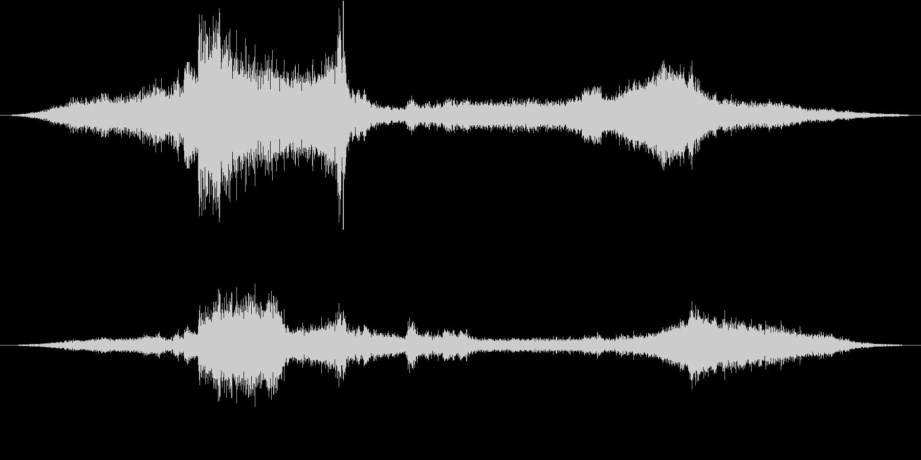 ダンプトラック:Ext:パススルー...の未再生の波形