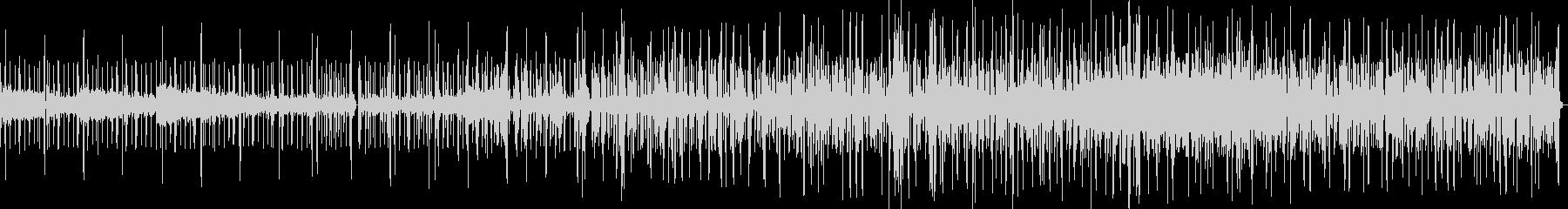 実験音楽の未再生の波形