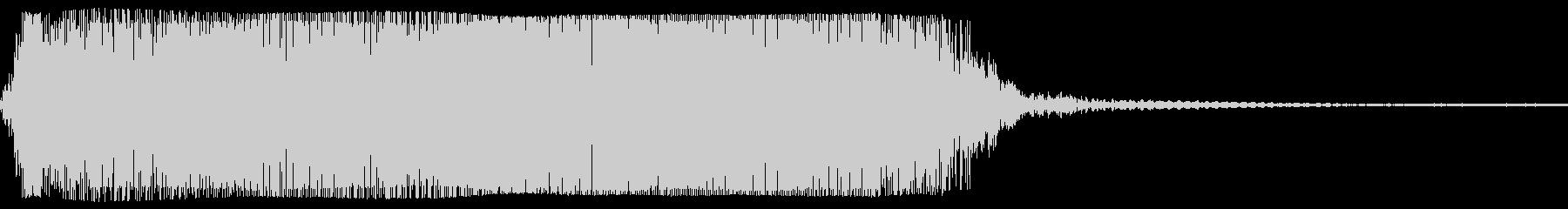 ギターメタルパワーコードzm wの未再生の波形